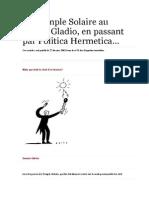 Du Temple Solaire au réseau Gladio, en passant par Politica Hermetica… (2002)