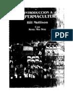 Introduccion a La Permacultura  de Bill Mollison