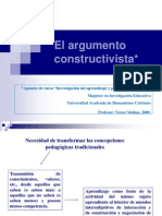 Argumento Constructivista