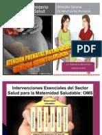 Atencion Prenatal Reenfocada 2014