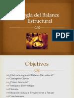 Regla Del Balance Estructural