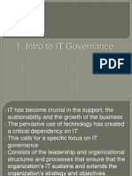 8976 ITG 01 IntroTo ITGovernance