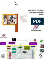 CDR Based Convergent Billing and Customer Care System