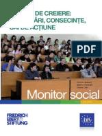 Monitor Social 3 Exodul de Creiere (Provocari, Consecinte, Cai de Actiune)