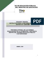 REPITENCIA Segundo_instructivo Decreto 34886-MEP
