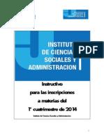 Instructivo ICSyA