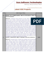 Latest IEEE Projects