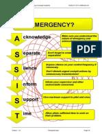 Emergency Atc Checklist