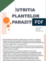Nutritia plantelor parazite