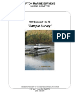 Sumerset 14 x 78 Sample Survey