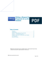 Guide to Writing an Rfp