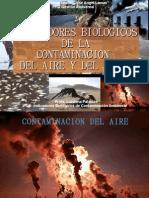 Indicadores de Contaminacion Aire y Suelo