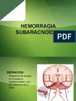 HSA y Aneurismas Cerebrales