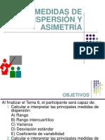 06.Medidas de Dispersión y Asimetría