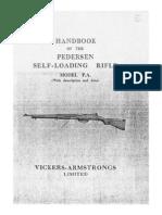 Handbook of the Pedersen Self-Loading Rifle