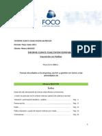 Aratirí nforme cuanti-cualitativo mayo-junio 2011