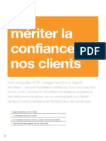 Orange Rapport RSE 2011 Confiance