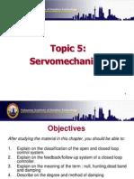 Topic 13 Servomechanism