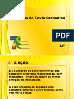CATEGORIAS DO TEXTO DRAMÁTICO