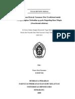 REVIEW JURNAL Ekstrak Tanaman Obat Untuk Mengobati Trichodina