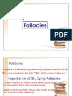Fallacies (2)