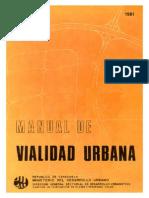 Manual de Vialidad Urbana