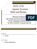 ECE 3120 Computer Systems Shift and Rotate