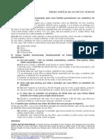 MINHA FAMÍLIA CONTINUA NO ALTAR DO SENHOR - Pb. Robespierre Machado
