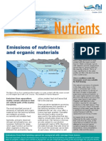 Factsheet on emissions of nutrients and organic materials