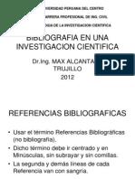 Bibliografia en Una Investigacin Cientifica 14