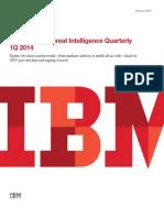 IBM - Threat Intelligence Quartely 1Q 2014
