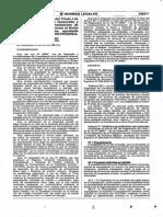 MODIFICAN EL REGLAMENTO DEL TITULO I DE LA LEY N° 28687 - LEY DE DESARROLLO Y COMPLEMENTARIA DE FORMALIZACIÓN DE LA PROPIEDAD INFORMAL