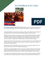 Rise of Extremist Buddhism in Sri Lanka