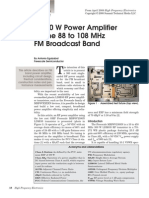 A 300 W Power Amplifier For the 88 to 108 MHz_HFE0408_Eguizabal