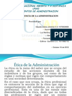Panel de La Influencia Administracion