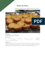 RECETAS Muffins de Queso