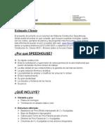 Resumen Sistema Speedhouse2