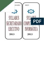 Lomo Archivos Syllabus