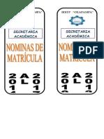 Lomo Archivos Nominas