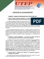 ASUNTOS PEDAGÓGICOS - DIRECTIVA SAP Nº 05