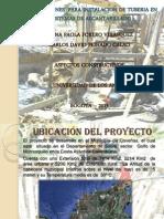 Excavaciones Para Instalacion de Tuberias - CPC