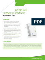 Tl-wpa4220(Eu v1 Datasheet