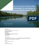 Energetska Politika Crne Gore