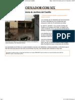 El Informador __ Grave inundación en colonia de Jardines del Castillo