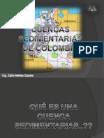 Cuencas Sedimentarias de Colombia