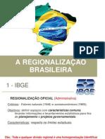 7ef Regionalizacao Do Brasil Geo Anapaula