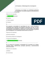 Act 1 Revisión de Presaberes - Metodologia De La Investigacion