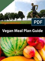 OrganicAthlete Vegan Meal Plan