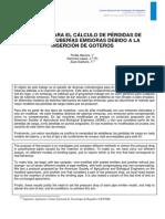 Métodos para el cálculo de pérdidas de carga en tuberias