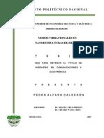 Tesis MODOS VIBRACIONALES EN NANOESTRUCTURAS DE SILICIO.pdf